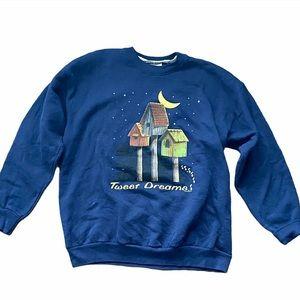 10/$50 ✨ Vintage • Birdhouse Grandma Sweater